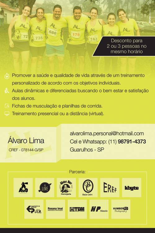 Alvaro Lima - Folheto