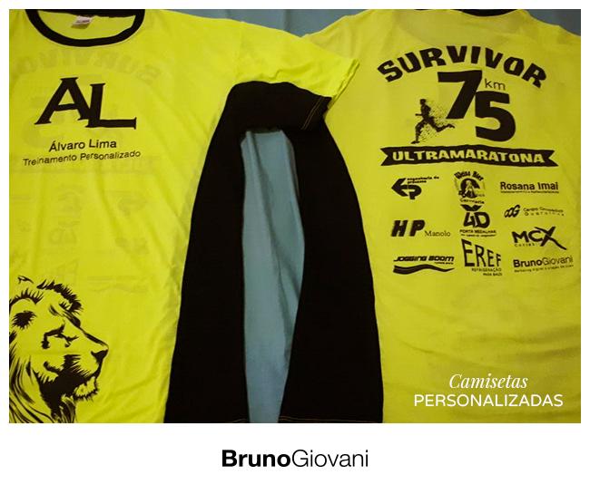 Camiseta AL - Survivors 75km